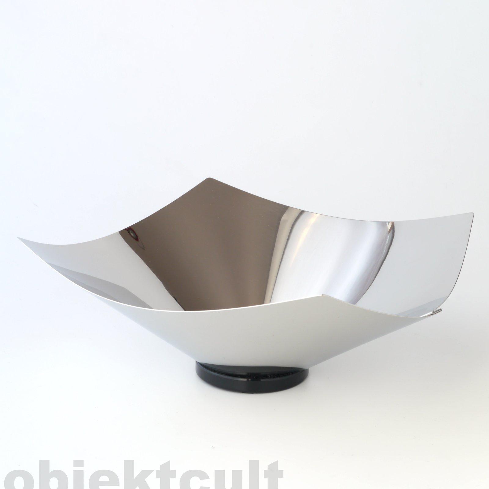 alessi obstschale schale obstorb colombo lobo edelstahl fruit bowl centerpiece ebay. Black Bedroom Furniture Sets. Home Design Ideas