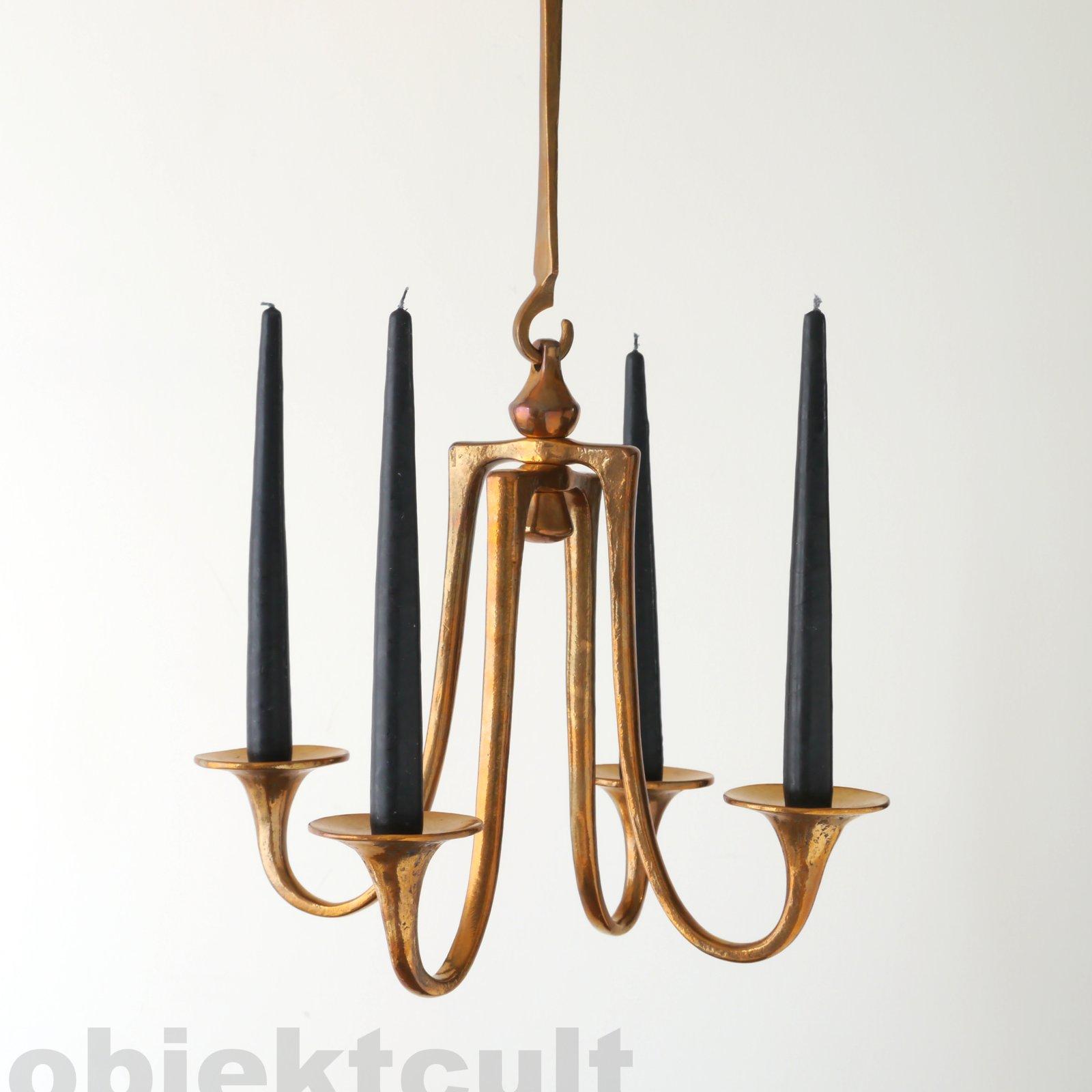harjes bronze jugendstil art nouveau 4flam kronleuchter h ngeleuchter chandelier ebay. Black Bedroom Furniture Sets. Home Design Ideas