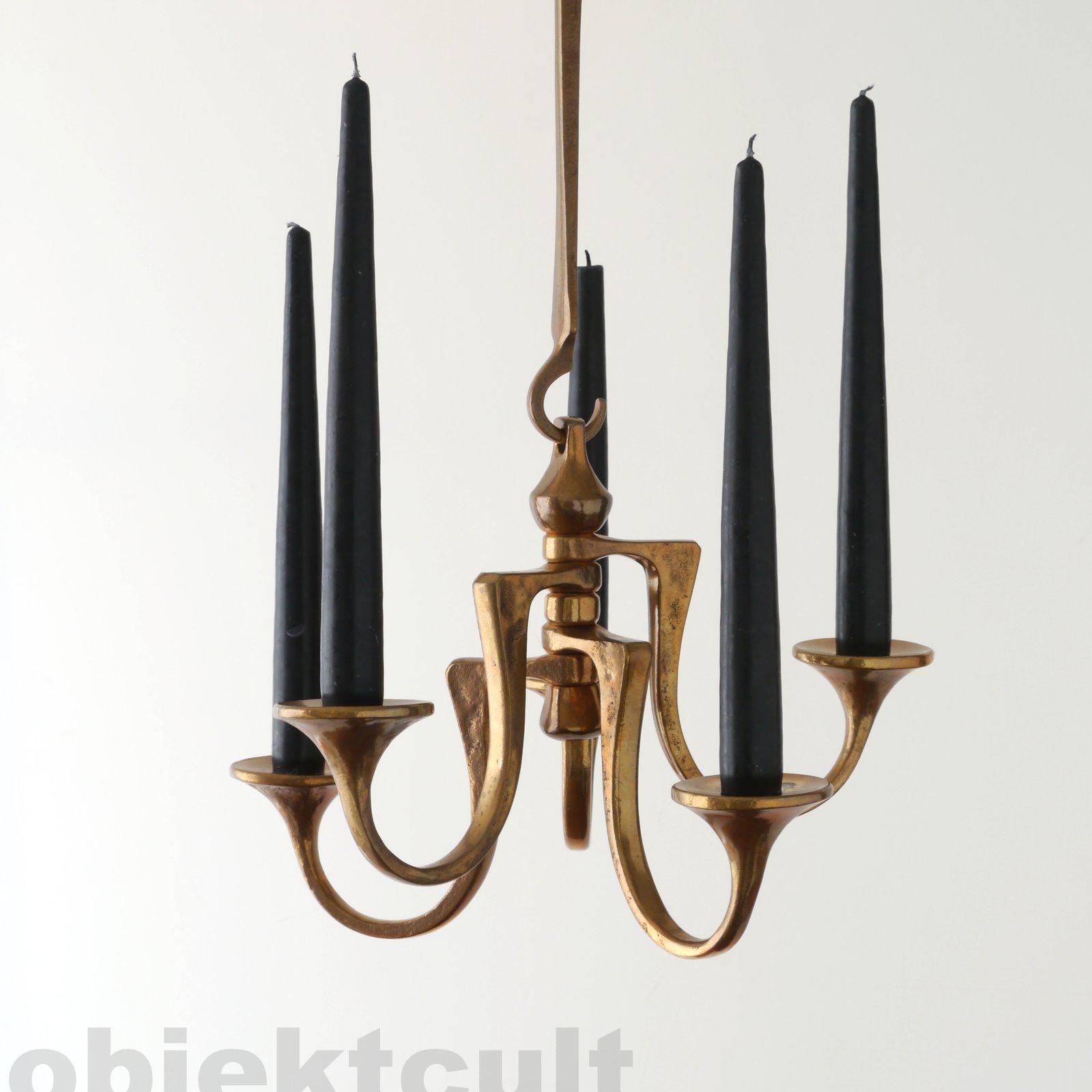 harjes bronze 5 flam kronleuchter h ngeleuchter chandelier pendant candle holder ebay. Black Bedroom Furniture Sets. Home Design Ideas