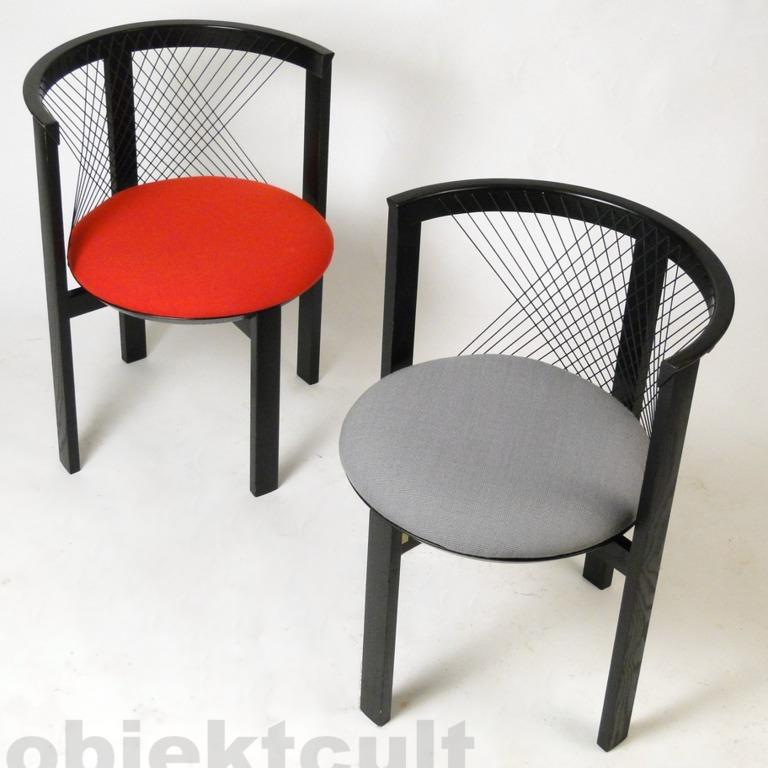 6x Stühle Stuhl STRING N.J. Haugesen Tranekær Tranekaer